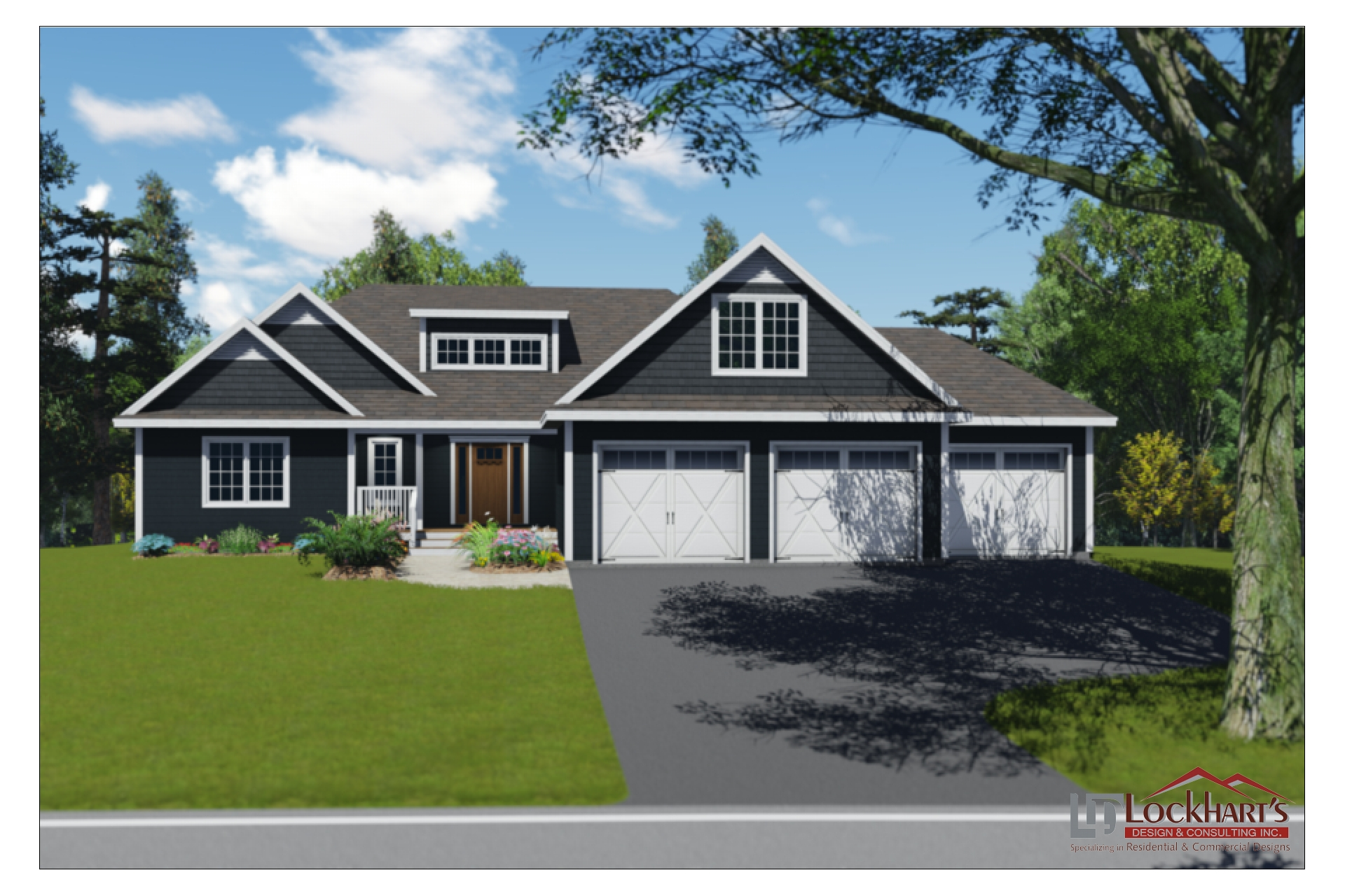Lockhart's Design House Plan 1330 - Kingston