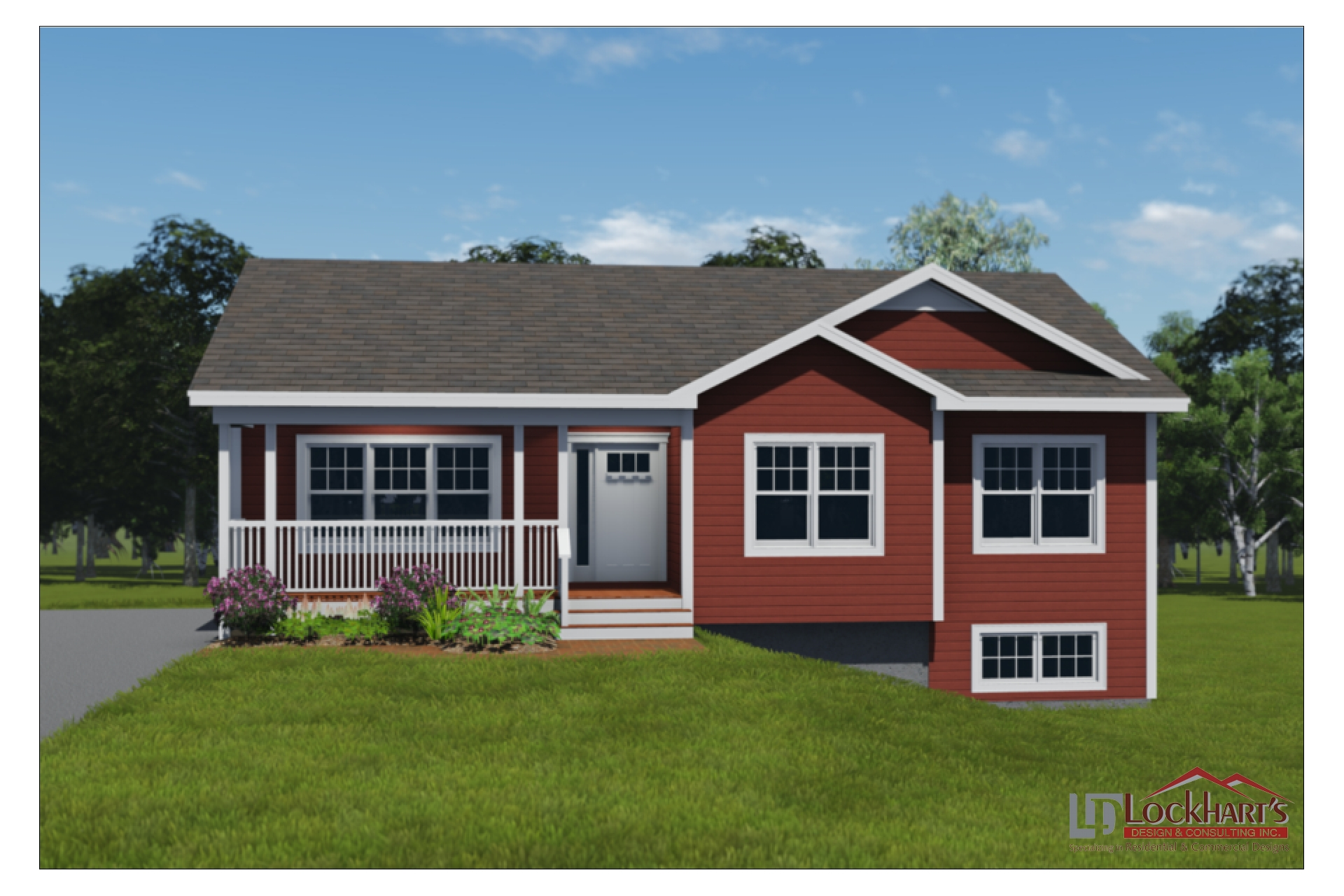 Lockhart's Design House Plan 1031 - Chignecto