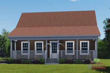 Lockhart's Design House Plans 1070 - Cornwallis