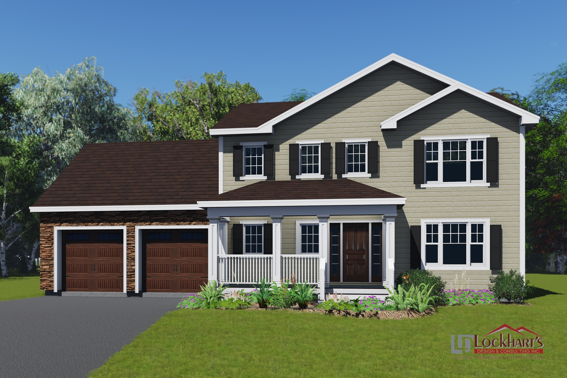 Lockhart's Design House Plan 1121 - Eclipse
